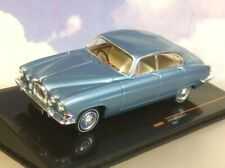 SUPERB IXO 1/43 DIECAST 1961 JAGUAR MK10 MKX (420G) RHD IN METALLIC BLUE CLC291