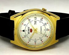 vintage seiko refurbished machanical watch good looking