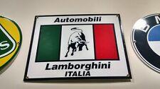 Lamborghini Porcelain Sign.....Countach Aventador Miura Gallardo Murcielago