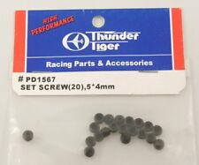 Thunder Tiger PD1567 Grains de 5x4mm (20) Set Screw modélisme
