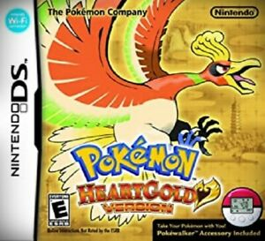 Pokemon HEARTGOLD heart gold version game card for nintendo 3DS NDSI NDS _PHG
