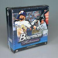 Bowman 2020 Platinum MLB Baseball Trading Cards Monster Box, 23 cards - 1 AUTO