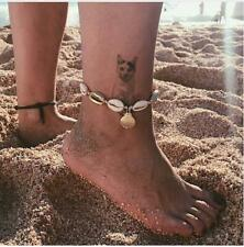 Anklet Foot Shell Boho Bracelet Chain Jewellry Bead Ladies Girls Beach Summer