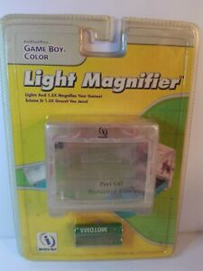 Clear LIGHT MAGNIFIER for Nintendo Game Boy Color InterAct 1.5x