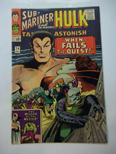 TALES TO ASTONISH SUB-MARINER AND THE INCREDIBLE HULK  #74  (1965)  8.0  VF