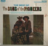 The Best Of The Sons Of The Pioneers Vinyl Record Album