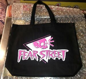Fear Street Netflix POP UP Video Horror Store On Melrose CA Promo Swag TOTE BAG