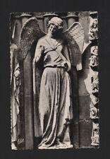 PC  SCULPTURE ANGEL angels REIMS CATHEDRAL FRANCE ANGE SOURIRE apre destruction