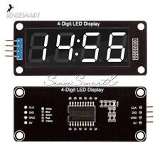 0.56'' TM1637 4Bit Digital LED 7 Segment Clock Tube Display For Arduino White