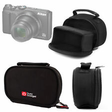 Black Neoprene Padded Case with Accessories Space for Nikon Coolpix A900 Camera