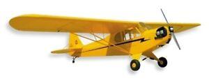 New SIG Piper J-3 J3 Cub 1/4 Scale Balsa Wood RC Remote Control Airplane Kit