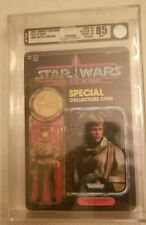 Star Wars POTF Luke in Poncho 92-Back (Kenner, 1985) AFA 85-Yellow 85/80/85