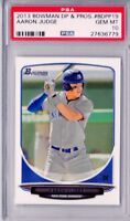 PSA 10 AARON JUDGE 2013 BOWMAN DRAFT PICKS YANKEES ROOKIE CARD RC GEM MINT QTY