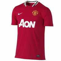 Manchester United Junior Home Shirt 2011- 2012, Size:  LB (11-12 yrs)