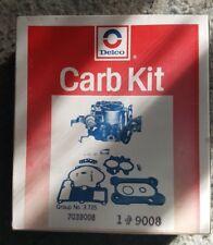 NOS GM Delco Carburetor Kit Part 7039008 - SEALED! Rochester single barrel