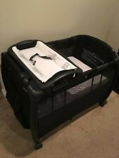 Joovy Room All-In-One Playard Nursery Center Changing Table Bassinet