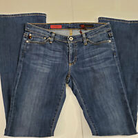 AG Adriano Goldschmied The Angel Bootcut Women's 28R Medium Wash Fade Blue Jeans