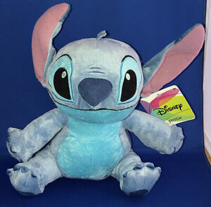 "Disney Sitting Stitch 11"" Plush Toy/Doll Just Play NWT Lilo and Stitch"
