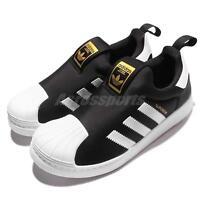 adidas Originals Superstar 360 C Black White Kid Preschool Slip On Shoes S32130