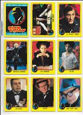 DICK TRACY MOVIE COMPLETE T/C SET 88 CARDS + 11 STICKER CARDS w/PAGES TOPPS