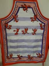 Lobster Apron Vivid Colors Destination Linens Cotton Blend