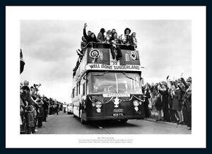 Sunderland 1973 FA Cup Final Open Top Bus Team Photo Memorabilia (637)