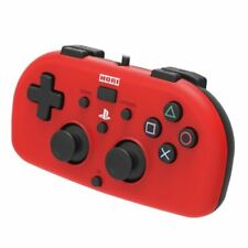 Hori PS4-101E Mini Light Red Wired Controller for PlayStation 4
