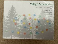 Department 56 String of 32 Multi Lights #6003203 (Free Shipping)