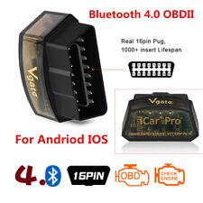 Auto Bluetooth OBD2 Scanner Code Reader Diagnose OBDII Andriod IOS iPhone iPad