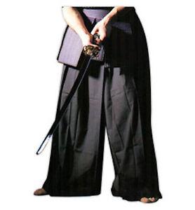 Martial Arts Hakama - BLACK-