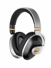 NEW - Blue Satellite Wireless Headphones with Audiophile Amp - Black (7105)