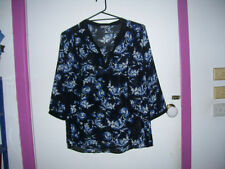 Target Polyester 3/4 Sleeve Floral Tops & Blouses for Women