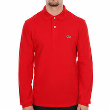 Lacoste Patternless Crew Neck Casual Shirts & Tops for Men