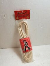 1950's Champion Toy Lariat Rope New Old Stock in Original package