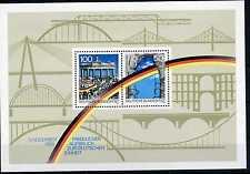 Block Bundesrepublik Deutschland Bund Bl. Nr: 22 ** 1990 Öffnung der Mauer BR177