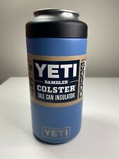 Yeti Rambler 16 oz Tall Can Insulated Colster Pacific Blue New Unregistered
