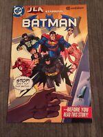 Con Edison Presents JLA Starring Batman RARE Promo Comic Book HTF [DC, 2002]