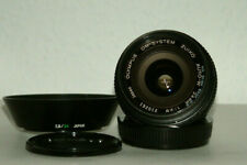 Olympus OM-System Zuiko Auto-W 24mm 1:2.8 Wide-angle  Prime Lens