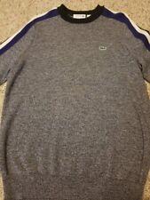 Lacoste Men's Sweater Extra Fine Merino sz Small Wool