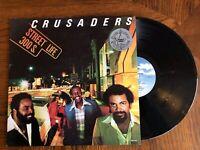 "Crusaders Street Life 33RPM 12"" Vintage Vinyl LP 1979 Excellent Jazz Funk/Fusion"
