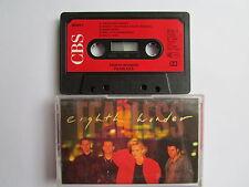 "EIGHTH WONDER ""FEARLESS"" CASSETTE, 1988 CBS, PAPER LABEL, LYRICS, TESTED."