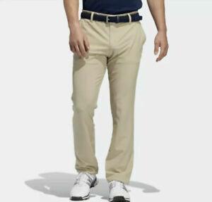 "Adidas Ultimate Golf Pants Men's Multi-Sport Tan DP6270 260 Sz 44"" $80 NEW"
