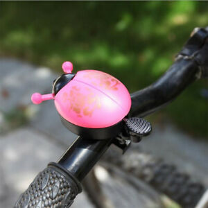 Bike Beetle Ladybug Shell Ring Bell For Children Cycling Bicycle Horn Alarm New