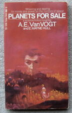 Planets For Sale by A.E. van Vogt & E. Mayne Hull PB 1st Tempo 5356