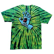 Santa Cruz SCREAMING HAND Skateboard T Shirt WILD SPIDER XXL