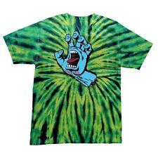 Santa Cruz SCREAMING HAND Skateboard T Shirt WILD SPIDER XL