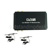 Mobile Car DVB-T2 Digital TV Receiver H.265 Real 4 Chip Speed 160-180km/h sz
