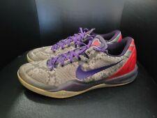 Nike Kobe 8 Mine Grey Mens Size 14 Grey Basketball Shoes