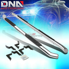 """FOR 07-16 TOYOTA TUNDRA DOUBLE CAB CHROME STAINLESS 3"""" SIDE STEP NERF BAR KIT"""
