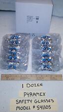 Lot 1 Dozen (12) PYRAMEX -INTRUDER , SAFETY GLASSES, MODEL #S4110S. LOT